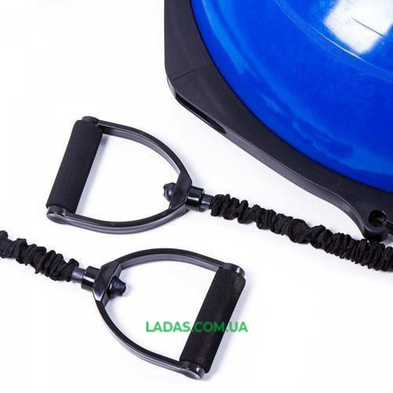Балансировочная платформа с эспандерами IronMaster(65см, цвета в ассортименте)