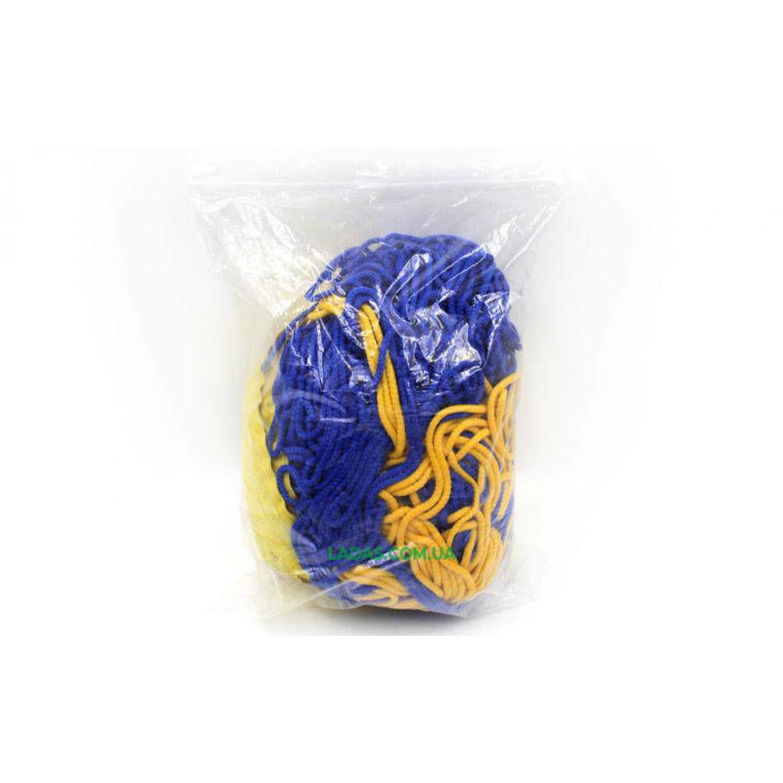 Сетка для волейбола Элит15 UR(PP 3,5мм, р-р 9x0,9м, ячейка 15x15см, шнур натяж.)