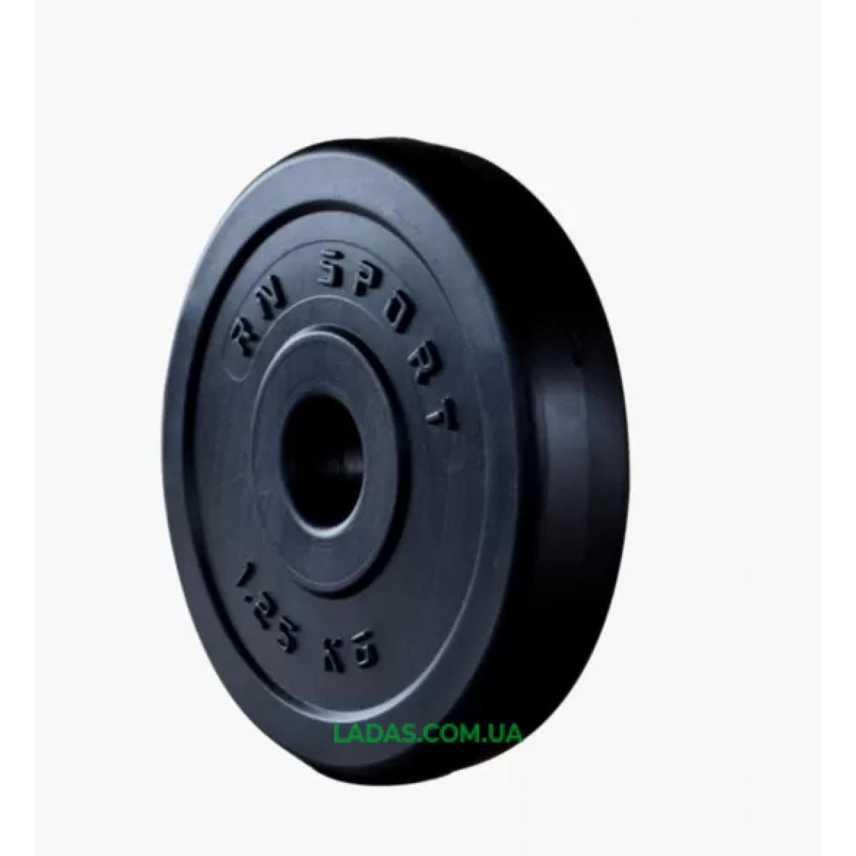 Атлетический набор 100кг дисков + 4 грифа + скамья для жима складная, универсальная