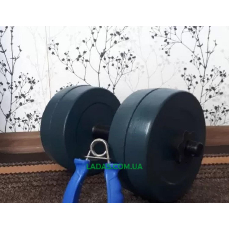 Гантель разборная гранилитная 10 кг