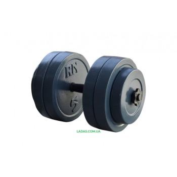 Разборная гантель (1шт) 25 кг