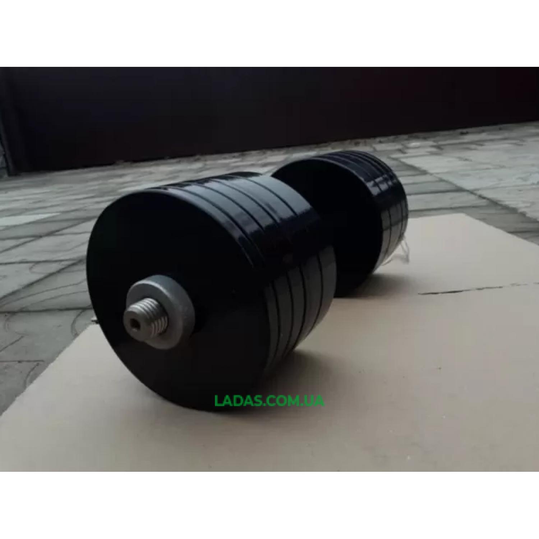 Гантели разборные (2шт) по 35 кг стальные с порошковой краской