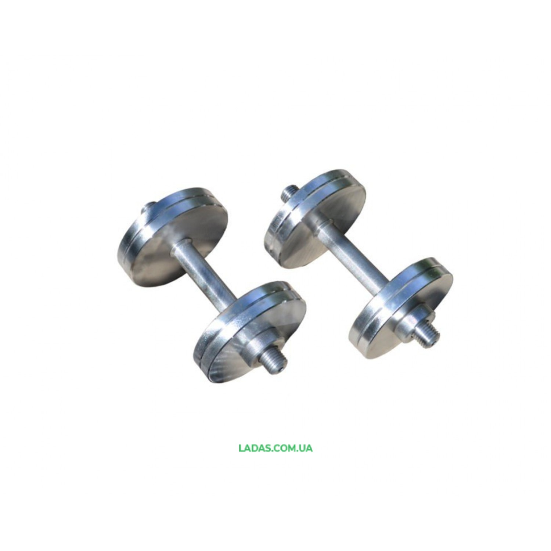 Гантели стальные (2шт) по 12кг наборные