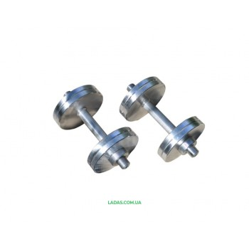 Гантели стальные (2шт) по 12 кг