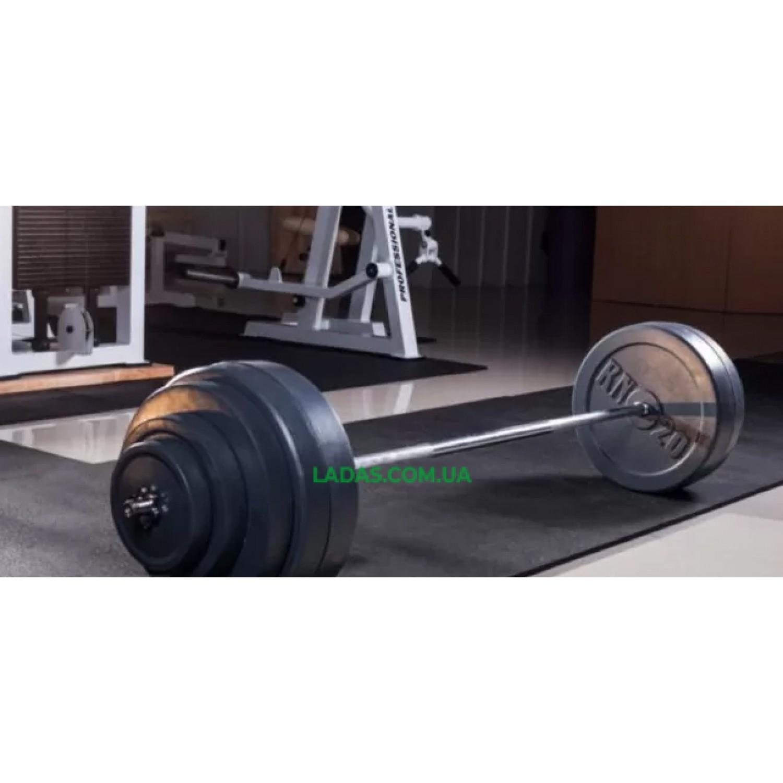 Штанга 62 кг + W-образный гриф