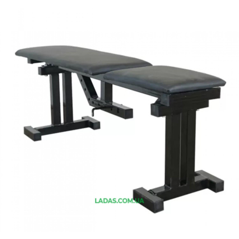 Скамья со стойками и страховочными упорами UM0150