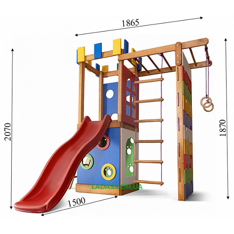 Детский спортивно-игровой комплекс  Babyland-16