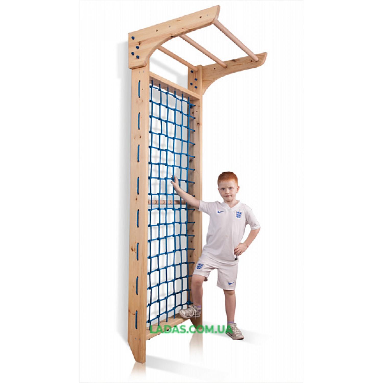 Гладиаторская сетка Киндер -7-220 деревянная (сосна)
