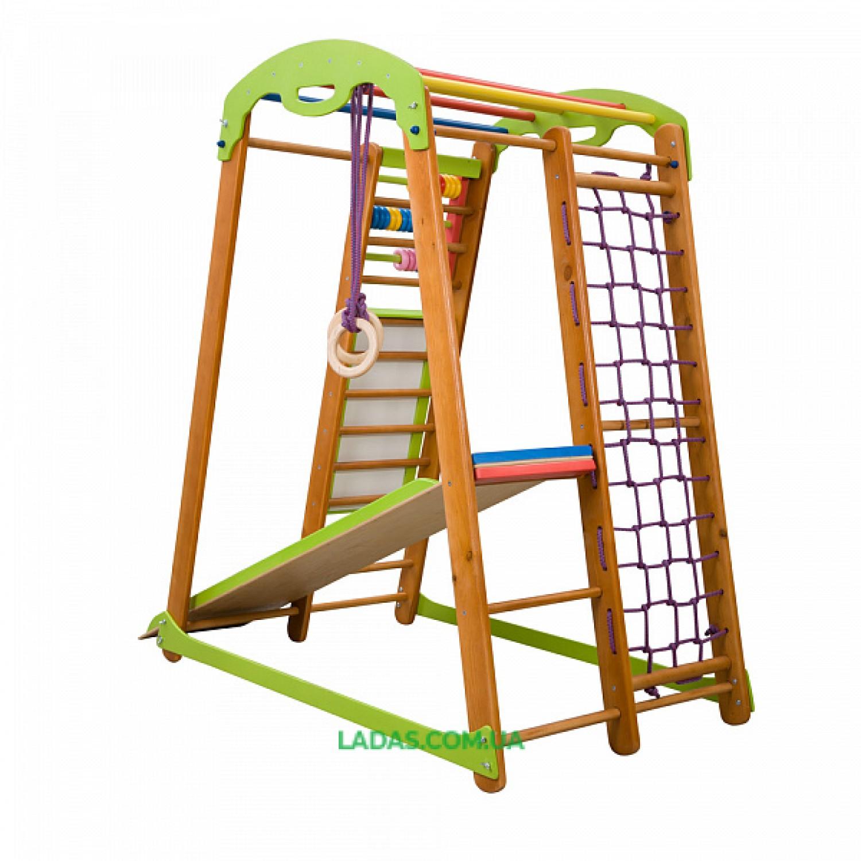Детский спортивный комплекс раннего развития Кроха-2  с прямой горкой