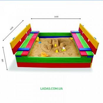 Песочница трансформер цветная Spb-11