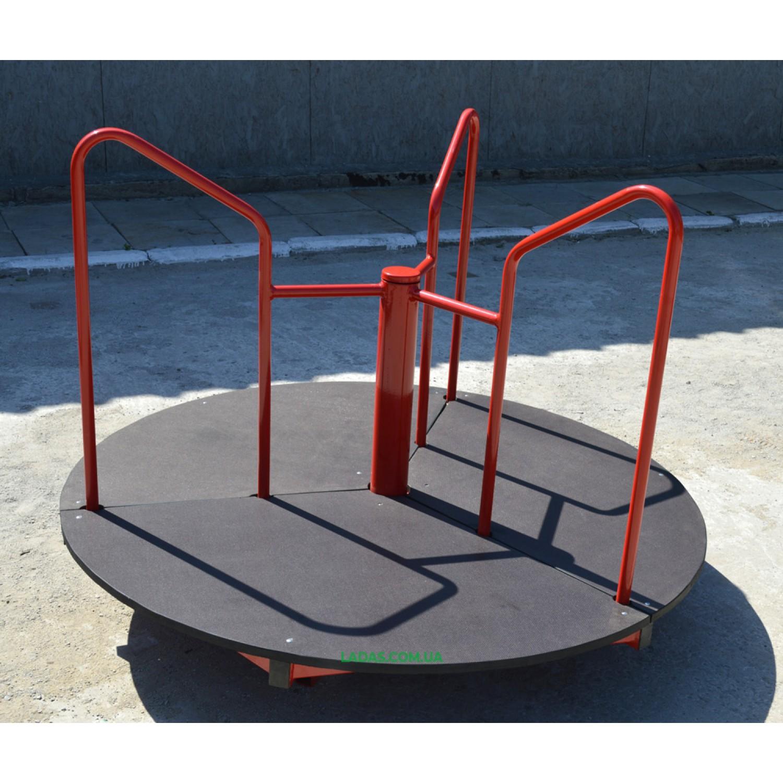 Карусель тройная для катания стоя (под бетонирование)