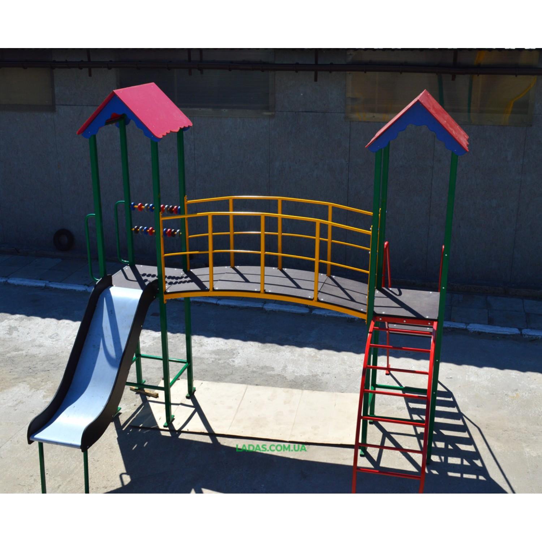 Спортивно-игровой комплекс для детей PlayGraund - 2 (под бетонирование)