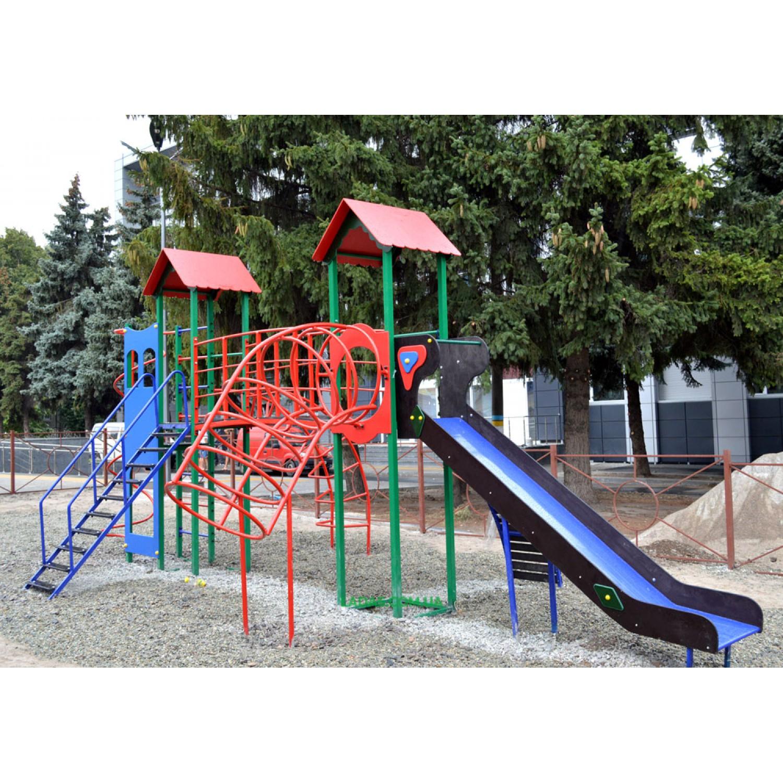Спортивно-игровой комплекс Детская игровая площадка PlayGraund - 5 (под бетонирование)