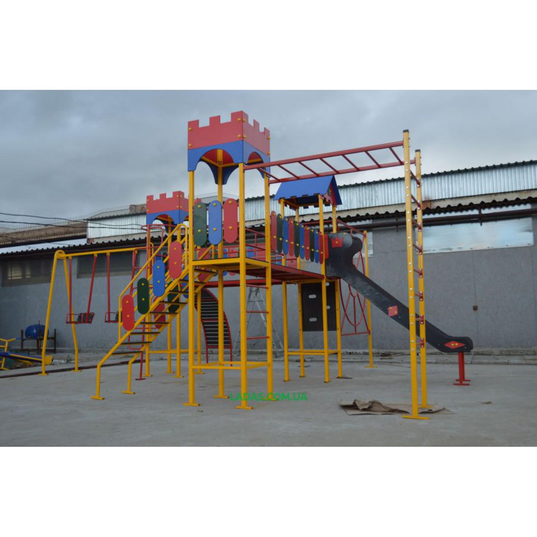 Спортивно-игровой комплекс Детская игровая площадка PlayGraund - 6 (под бетонирование)