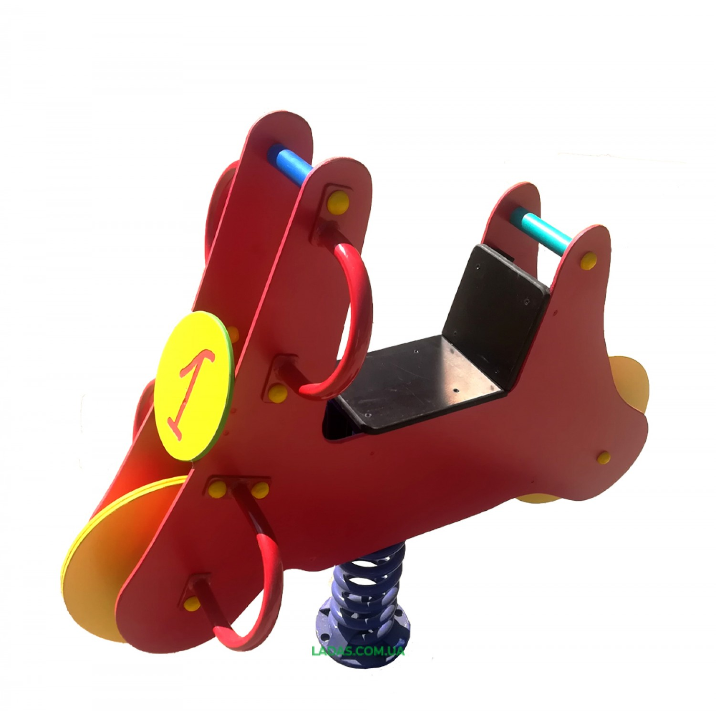 Качалка-балансир на пружине Байкер (под бетонирование)