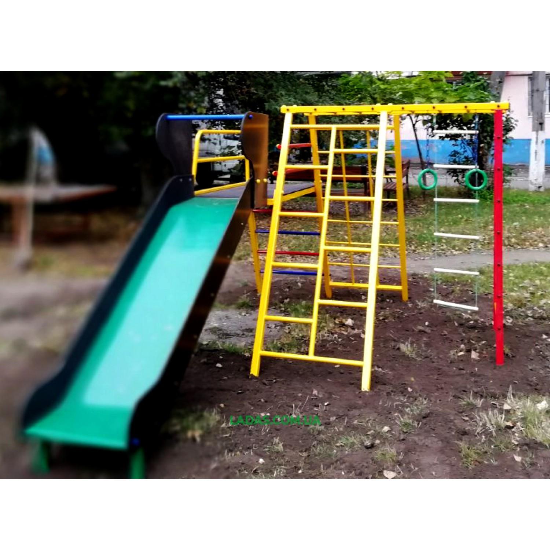 Детский спортивно-игровой комплекс SportPlay - 3  (под бетонирование)